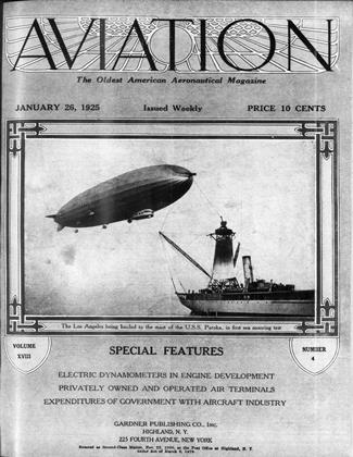 Cover for the January 26 1925 issue