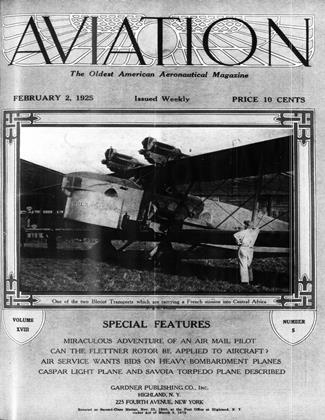 Cover for the February 2 1925 issue