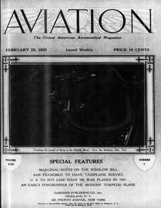 Cover for the February 23 1925 issue