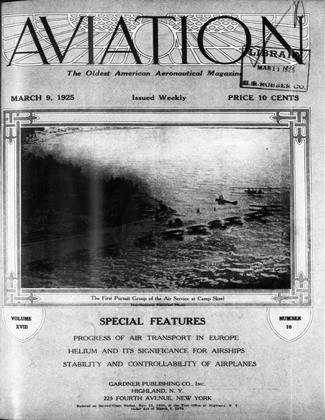 Cover for the March 9 1925 issue