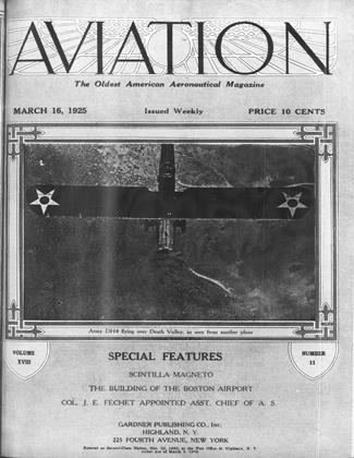 Cover for the March 16 1925 issue