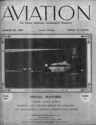 Cover for the March 23 1925 issue