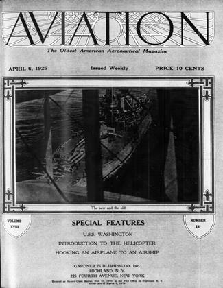 Cover for the April 6 1925 issue