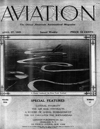 Cover for the April 27 1925 issue