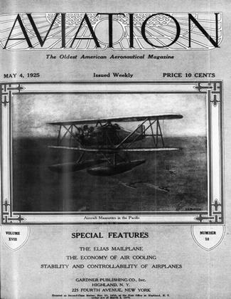 Cover for the May 4 1925 issue