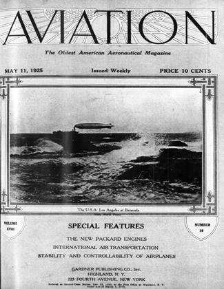 Cover for the May 11 1925 issue