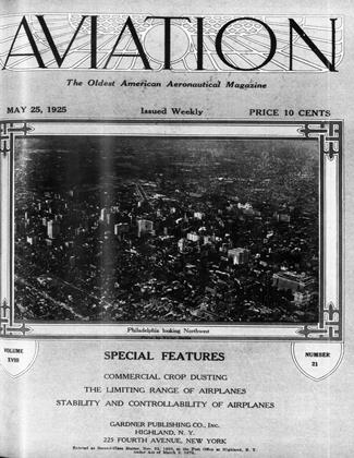 Cover for the May 25 1925 issue
