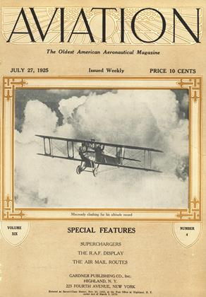 Cover for the July 27 1925 issue