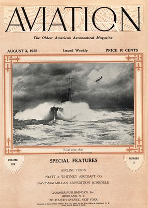Cover for the August 3 1925 issue