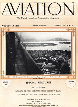 Cover for the August 10 1925 issue