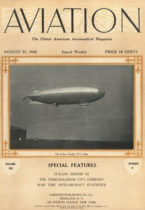 Cover for the August 31 1925 issue
