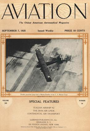 Cover for the September 7 1925 issue