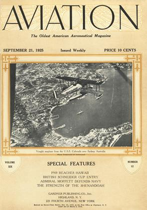 Cover for the September 21 1925 issue