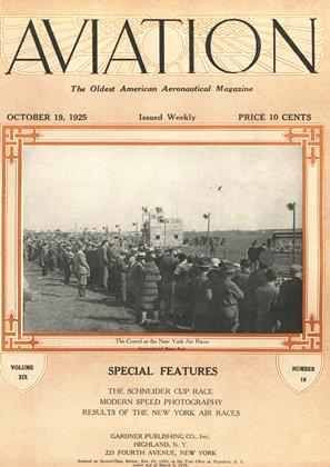 Cover for the October 19 1925 issue