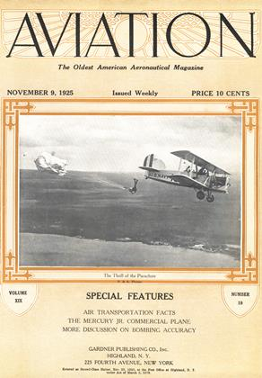 Cover for the November 9 1925 issue