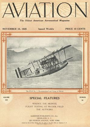 Cover for the November 16 1925 issue