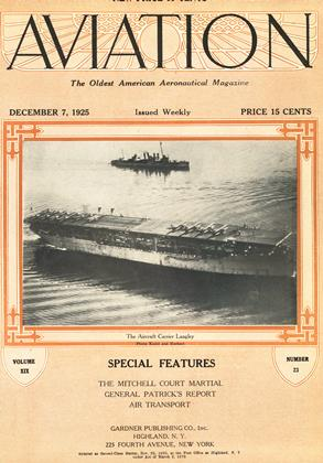Cover for the December 7 1925 issue