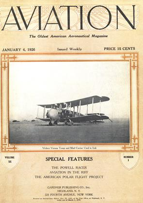 Cover for the January 4 1926 issue