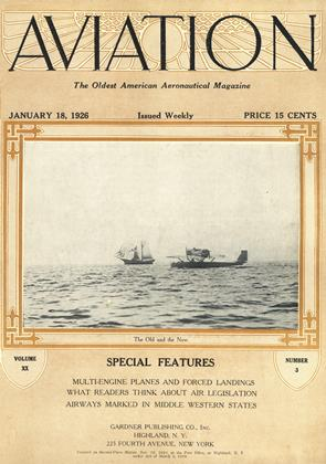 Cover for the January 18 1926 issue