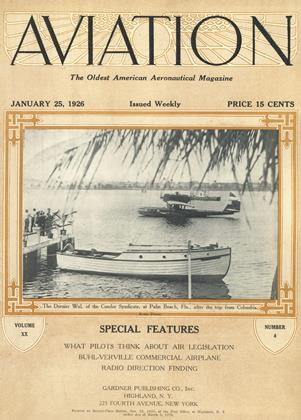Cover for the January 25 1926 issue