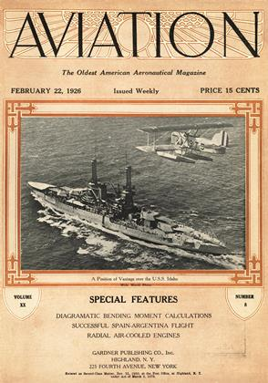 Cover for the February 22 1926 issue