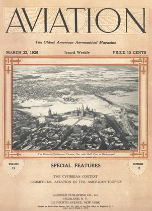 Cover for the March 22 1926 issue