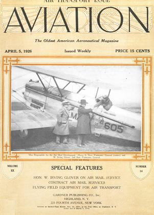 Cover for the April 5 1926 issue