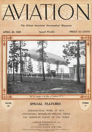 Cover for the April 26 1926 issue