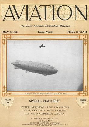 Cover for the May 3 1926 issue