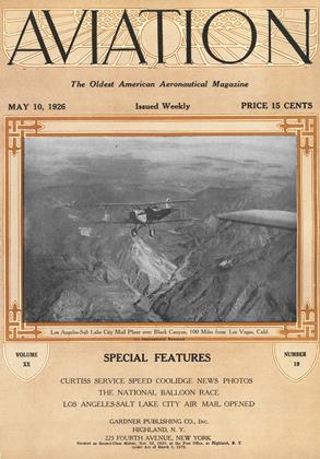 Cover for the May 10 1926 issue
