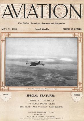 Cover for the May 31 1926 issue