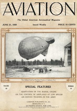 Cover for the June 21 1926 issue
