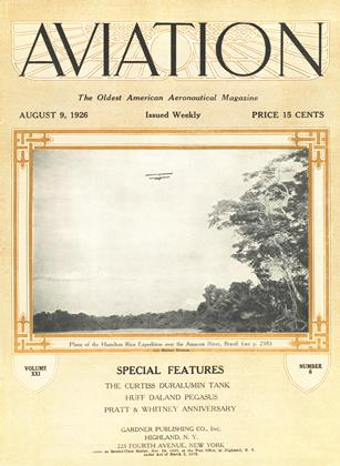 Cover for the August 9 1926 issue