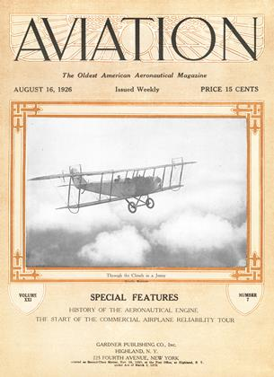 Cover for the August 16 1926 issue