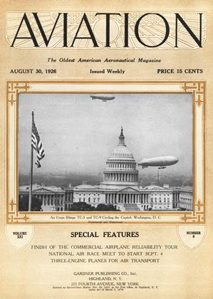 Cover for the August 30 1926 issue