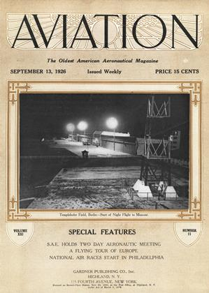 Cover for the September 13 1926 issue