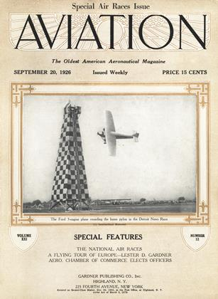 Cover for the September 20 1926 issue