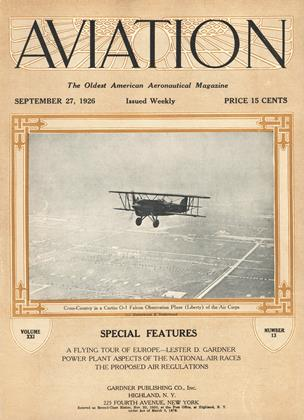 Cover for the September 27 1926 issue