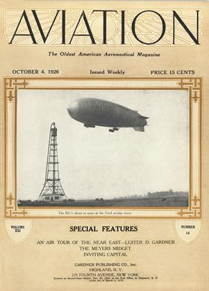 Cover for the October 4 1926 issue