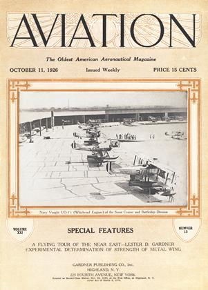 Cover for the October 11 1926 issue
