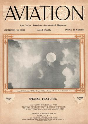 Cover for the October 18 1926 issue