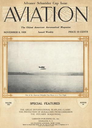 Cover for the November 8 1926 issue