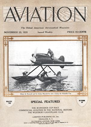Cover for the November 22 1926 issue