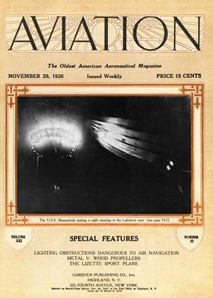 Cover for the November 29 1926 issue