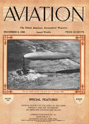 Cover for the December 6 1926 issue