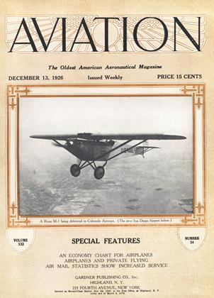 Cover for the December 13 1926 issue
