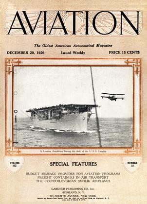 Cover for the December 20 1926 issue
