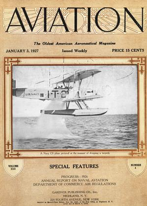 Cover for the January 3 1927 issue