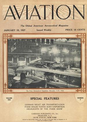 Cover for the January 10 1927 issue