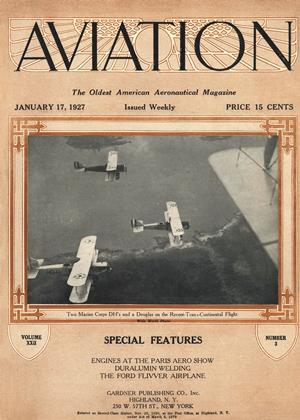 Cover for the January 17 1927 issue